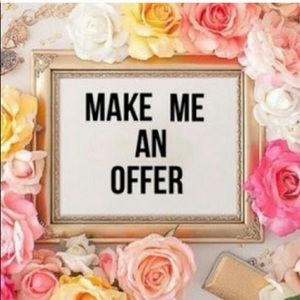 Accepting reasonable offers 🌺🌼🌸